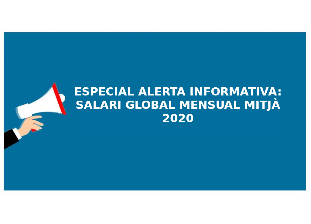 salari global mensual mitja 2020